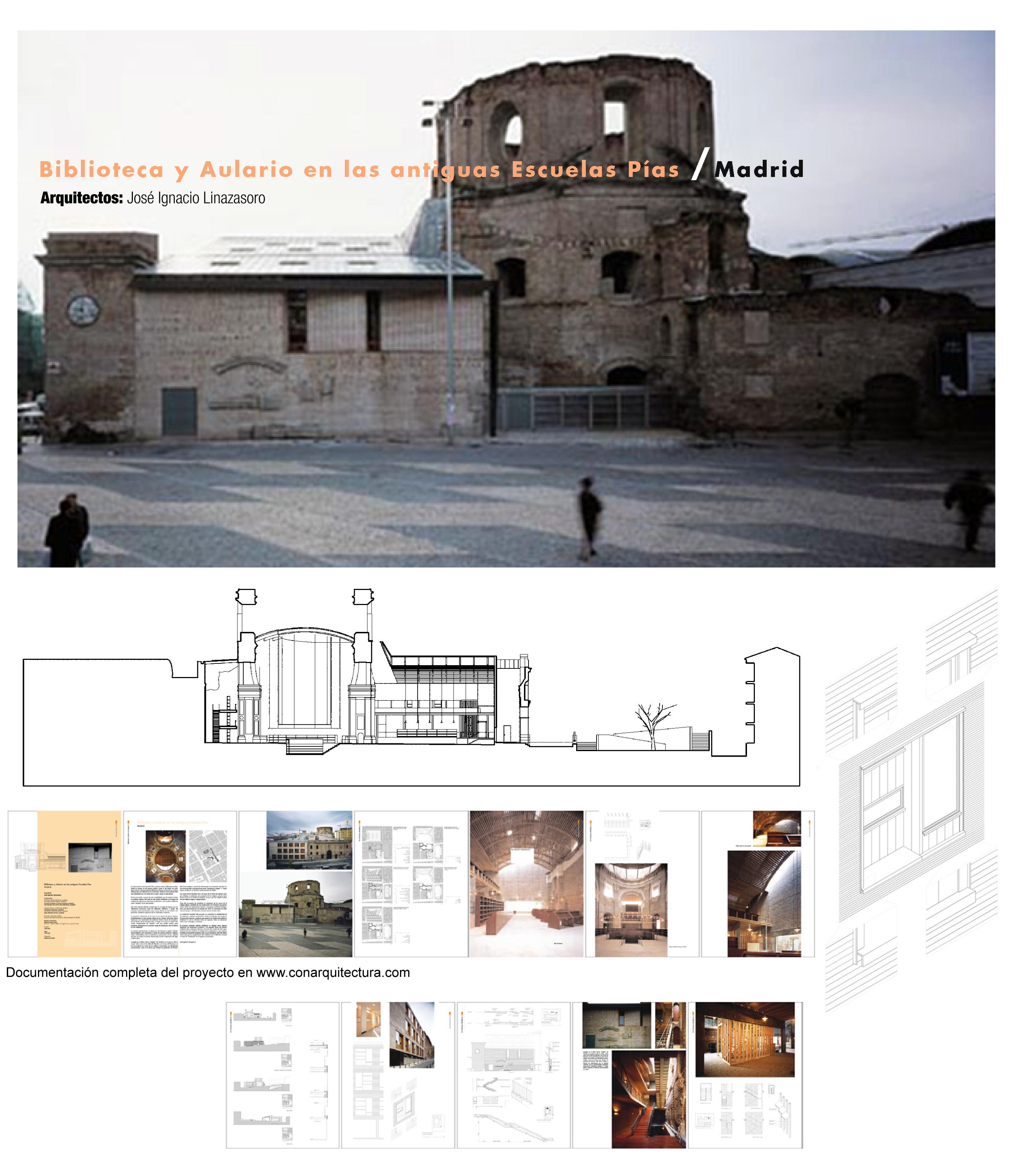 Arquitectura ladrillo conarquitectura for Biblioteca uned
